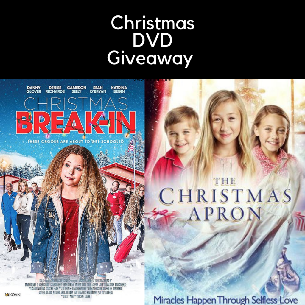 Christmas DVD Giveaway