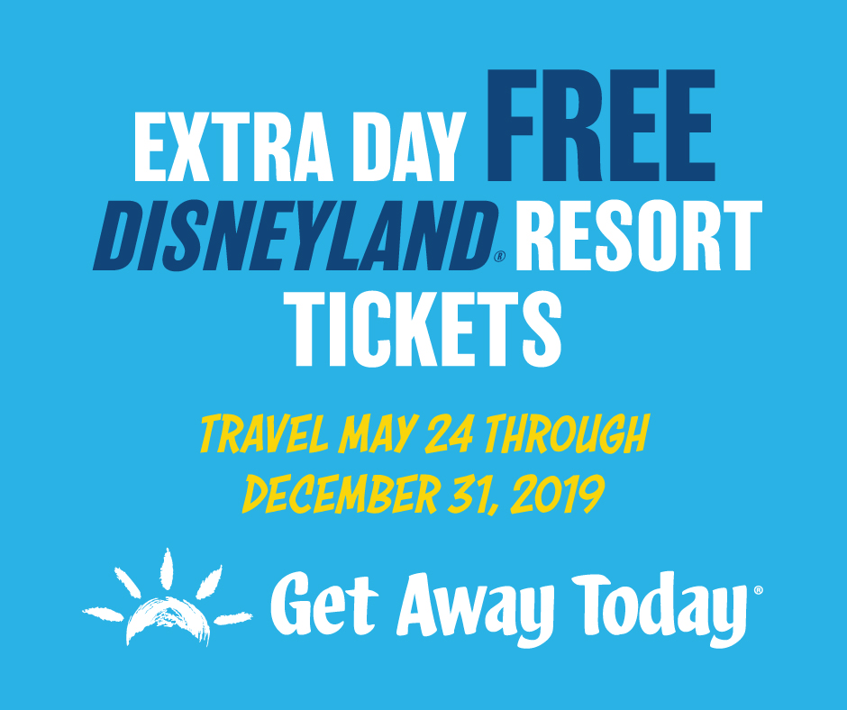Disneyland Deals with Get Away Today