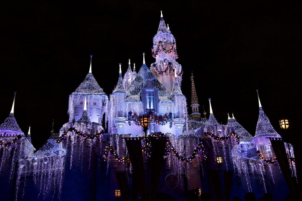 Celebrate the holidays at the disneyland resort